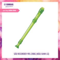Sáo dọc Recorder Yamaha YRS-20B – Nguyên liệu đáp ứng tiêu chuẩn quốc tế, được đưa vào chương trình giáo dục âm nhạc – Tháo lắp vệ sinh dễ dàng – Tặng phụ kiện túi đựng Recorder – Bảo hành chính hãng 12 tháng