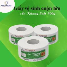 Combo 10 cuộn giấy vệ sinh cuộn lớn/ Giấy vệ sinh An Khang 700gr