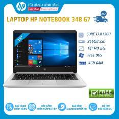 Laptop HP 348 G7(Core i3-8130U,4GB,256GB SSD,14″HD,Fingerprint,FreeDos,Silver (9PG79PA) – Hàng Chính Hãng