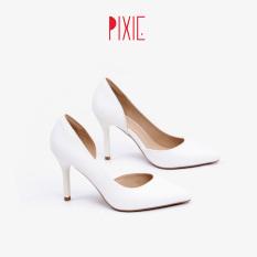Giày Cao Gót 7cm Gót Nhọn Hở Eo Pixie X693