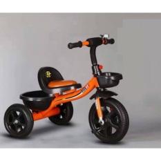 xe đạp ba bánh yên da có giỏ cho bé từ 2-6tuổi