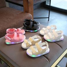 Sandal cho bé kiểu dáng Hàn Quốc,sandal cho bé gái,sandal có đèn nháy cho bé gái 21595
