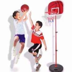 (RẺ KHÔNG TƯỞNG) Trò chơi vận động bóng rổ cho trẻ em phát triển chiều, rèn luyện đôi tay khéo léo và đôi mắt tinh nhanh, điều chỉnh được chiều cao, khung bằng sắt cực kì bền, kích thước 34x27x112 cm hàng cao cấp