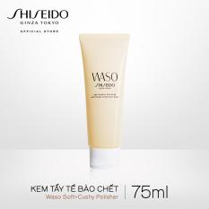 Kem tẩy tế bào chết Shiseido WASO Soft+Cushy Polisher 75ml