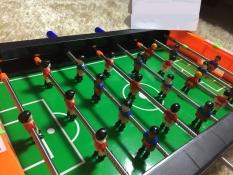 Trò chơi bilac bóng đá trẻ em thiết kế 8 tay cầm bằng thép siêu bền 22 cầu thủ hàng cao cấp, Tro choi bilac bong da cho tre em thiet ke 8 tay cam bang thep khong gi 22 cau thu