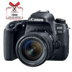 [Nhập LZDEL51 giảm 10% tối đa 200k cho đơn 99k] Máy ảnh Canon 77D kèm lens 18-55mm STM – Hàng Canon Lê Bảo Minh