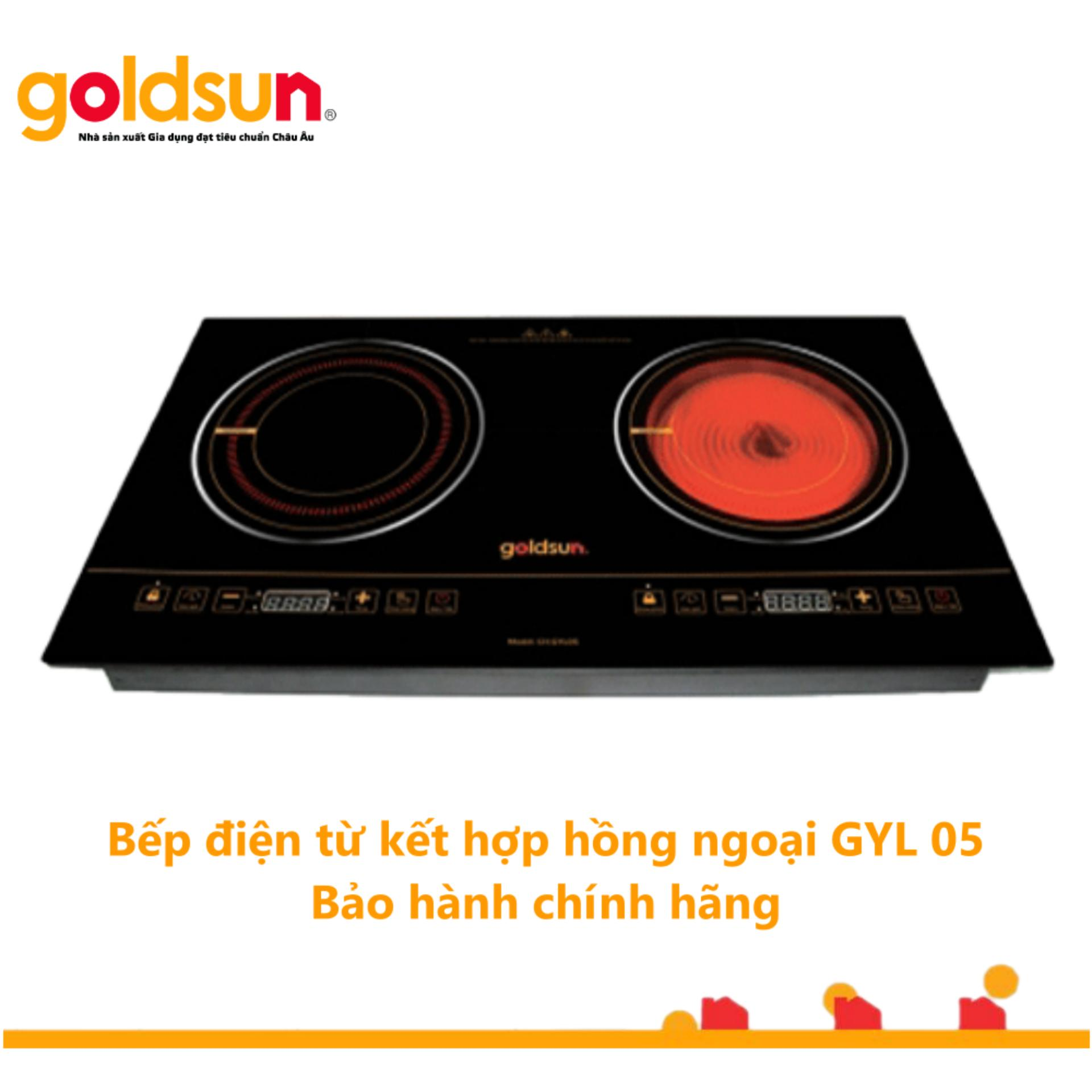 Shop bán Bếp Goldsun hồng ngoại - Từ đôi CH-GYL05