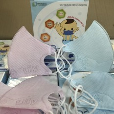 Hộp 10 Khẩu trang y tế Lily cho bé 0-4 tuổi