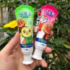 Kem đánh răng Lion Nhật Bản cho bé (nuốt được)