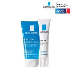 Bộ sản phẩm giúp giảm mụn chuyên biệt La Roche-Posay Effaclar A.I