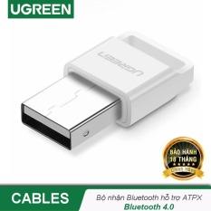[BH 24 tháng 1 đổi 1] USB Bluetooth 4.0 CSR UGREEN US192 – Hỗ trợ aptX dùng cho máy tính để bàn hoặc laptop, phạm vi hoạt động đến 20 mét