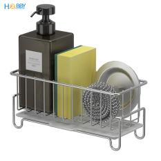 Kệ rổ đựng đồ rửa chén có khay hứng nước HOBBY KRC5 – Inox 304 nhỏ gọn tiện lợi không rỉ sét