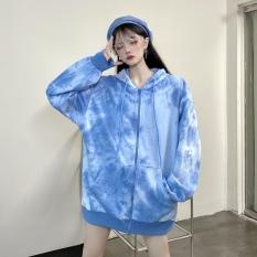 [Mẫu Mới 2020] Áo Khoác Nỉ Nữ Có Mũ Phối Màu Loang Phong Cách Trẻ Trung Thời Trang JayStore AO KHOAC NAM 1000025V3