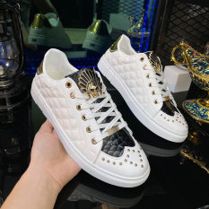 Giày Thể Thao Nam Cao Cấp Da Poly Synthetic Nhập Khẩu Thiết Kế Sang Trọng LC15