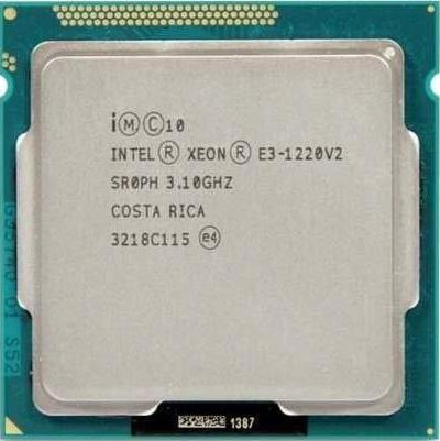 Chip E3 1220V2 Cpu E3 1220V2 Lắp Main H61 B75 Tặng Kèm Keo Tản Nhiệt