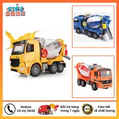 Đồ chơi xe ô tô trộn bê tông, đồ chơi trẻ em thông minh tăng khả năng vận động