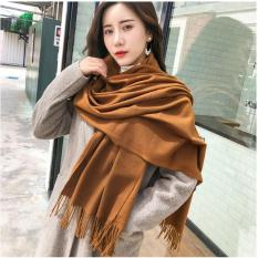 Khăn len quàng cổ nữ mùa đông Cashmere thời trang cho nữ