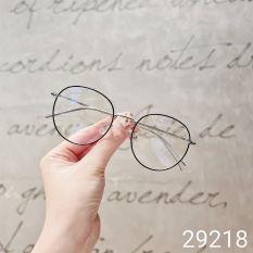 Gọng kính mắt tròn kim loại thời trang nữ 29218 – Gọng kính cận Lilyeyewear