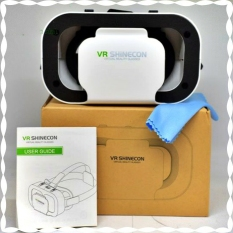 Kính thực tế ảo VR SHINECON 5.0 cao cấp chính hãng. Phiên bản cao cấp thấu kính không đau mắt. Có tay cầm chơi game. Máy phát video và game 3D VR. Bảo hành 12 tháng