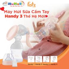 Máy hút sữa, máy hút sữa cầm tay Fatzbaby Handy 3 MAMABI (Hàng chính hãng)-Máy vắt sữa có điều chỉnh lực,máy êm có thể ngả lưng khi hút, chính hãng,giá tốt-Tặng túi trữ sữa, van thay thế