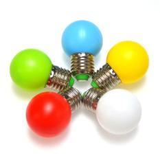 Combo 5 Bóng đèn Led quả chanh trang trí xanh lá, xanh dương, đỏ, vàng, trắng