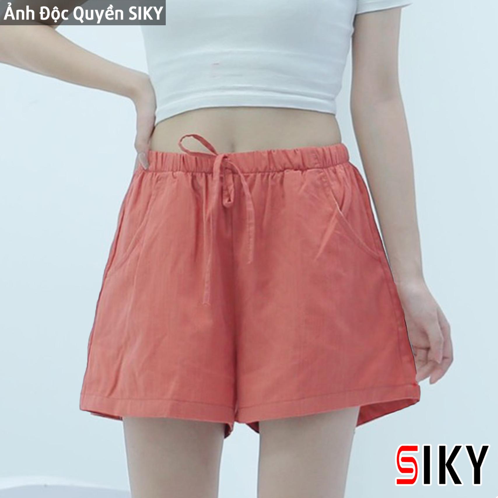 Quần short đũi, quần shorts nữ - Siky