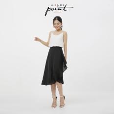 Chân váy bèo tà xéo nữ Monde Point MPWA0716310, kiểu dáng nữ tính, màu sắc trang nhã, dễ phối với nhiều trang phục, phụ kiện khác nhau