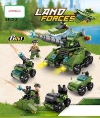 Bộ Đồ Chơi Lắp Ráp Xe Tăng Lego 138-525 Chi Tiết Đẹp Xếp Được nhiều mô hình khác nhau