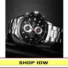[Có video quay thật] Đồng hồ nam dây thép không rỉ cao cấp Bosck IDW S0441 (Nhiều màu lựa chọn)