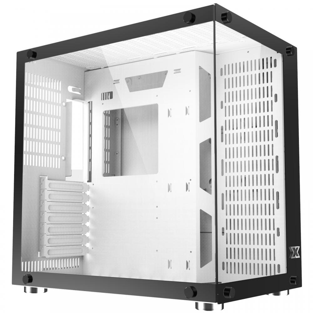 Vỏ máy tính (Case) Xigmatek Aquarius Plus – Trắng (Không kèm Quạt)
