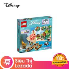 [Voucher freeship 30k]Bộ lắp ráp Lego Disney Moana hành trình khám phá đại dương 41150