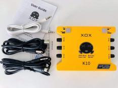 Sound Card XOX K10 Phiên Bản Đặc Biệt Kỷ Niệm 10 Năm