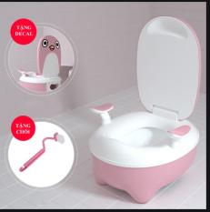 Bô Tolet BaBy mini vệ sinh cho bé kèm cọ rửa loại cao cấp có ngăn chứa tháo lắp dễ dàng giá cực sốc