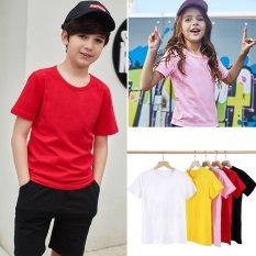 Áo thun trẻ em Truekids, áo thun trơn cho bé trai bé gái nhiều màu