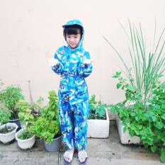 Bộ quần áo mưa trẻ em-Bộ Quần Áo Mưa Vải Dù Số Cho Bé Chống Thấm-Áo mưa bô trẻ em,Áo mưa trẻ em,Aó mưa bộ