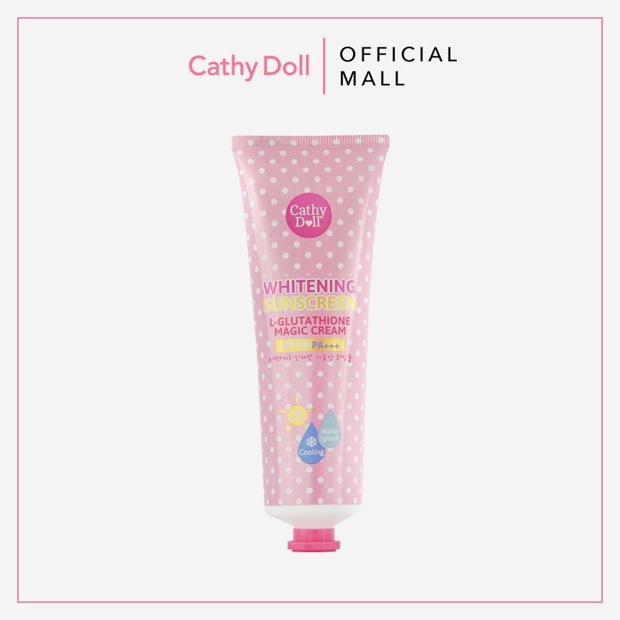 Kem Chống Nắng Trắng Da Cathy Doll L- Glutathione Magic Cream Spf50 Pa+++ 138ml