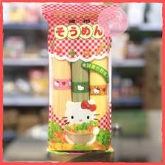 Mì Somen Rau Củ Hello Kitty Nội Địa Nhật Cho Bé Ăn Dặm Từ 8M+ (Nguyên Gói 300Gr)