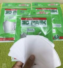 Khẩu trang Y Tế 3D Mask Việt Nhật (5 cái/túi)