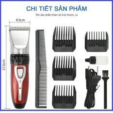 [Bảo hành 2 năm] Tông đơ cắt tóc, hớt tóc gia đình, trẻ em, không dây, chuyên nghiệp Jichen 0817 (Tăng đơ hớt tóc)