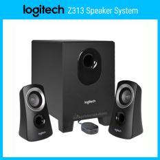 Loa Logitech 2.1 Z313 – Loa siêu trầm, giắc 3.5, công suất cực đại 50W – Hàng chính hãng