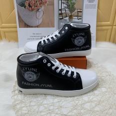 (Có 2 Màu) Giày cổ cao da nam Fashion JYUNLL kiểu dáng siêu ngầu