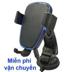 Bộ sạc nhanh không dây kiêm giá đỡ điện thoại trên ô tô
