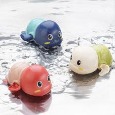 Đồ chơi rùa biển biết bơi KAVY thả bồn tắm cho bé chạy cót và bơi dưới nước vui nhộn, dễ thương