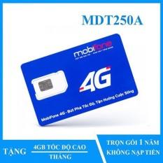 Sim 4G Mobifone trọn gói 1 năm không nạp tiền MDT250A (Mạnh như Sim 4G Viettel và Sim 4G Vina) – Sim 4G Mobi