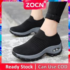Giày Thể Thao Thoải Mái ZOCN Cho Nữ, Giày Thường Ngày Tăng Chiều Cao