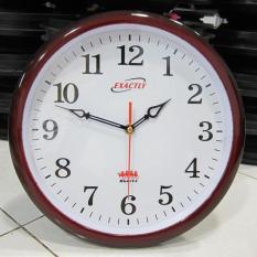 Đồng hồ treo tường EXACTLY U450 (Nâu giả gỗ)