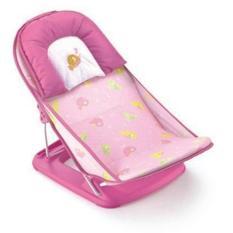 Ghế nằm tắm có tựa đầu trẻ em (Màu hồng)