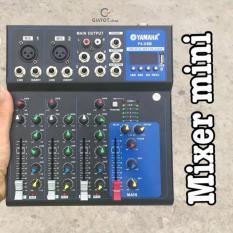 Bộ trộn âm thanh Mixer YAMAHA F4 có Bluetooth có chân USB chuyên nghiệp