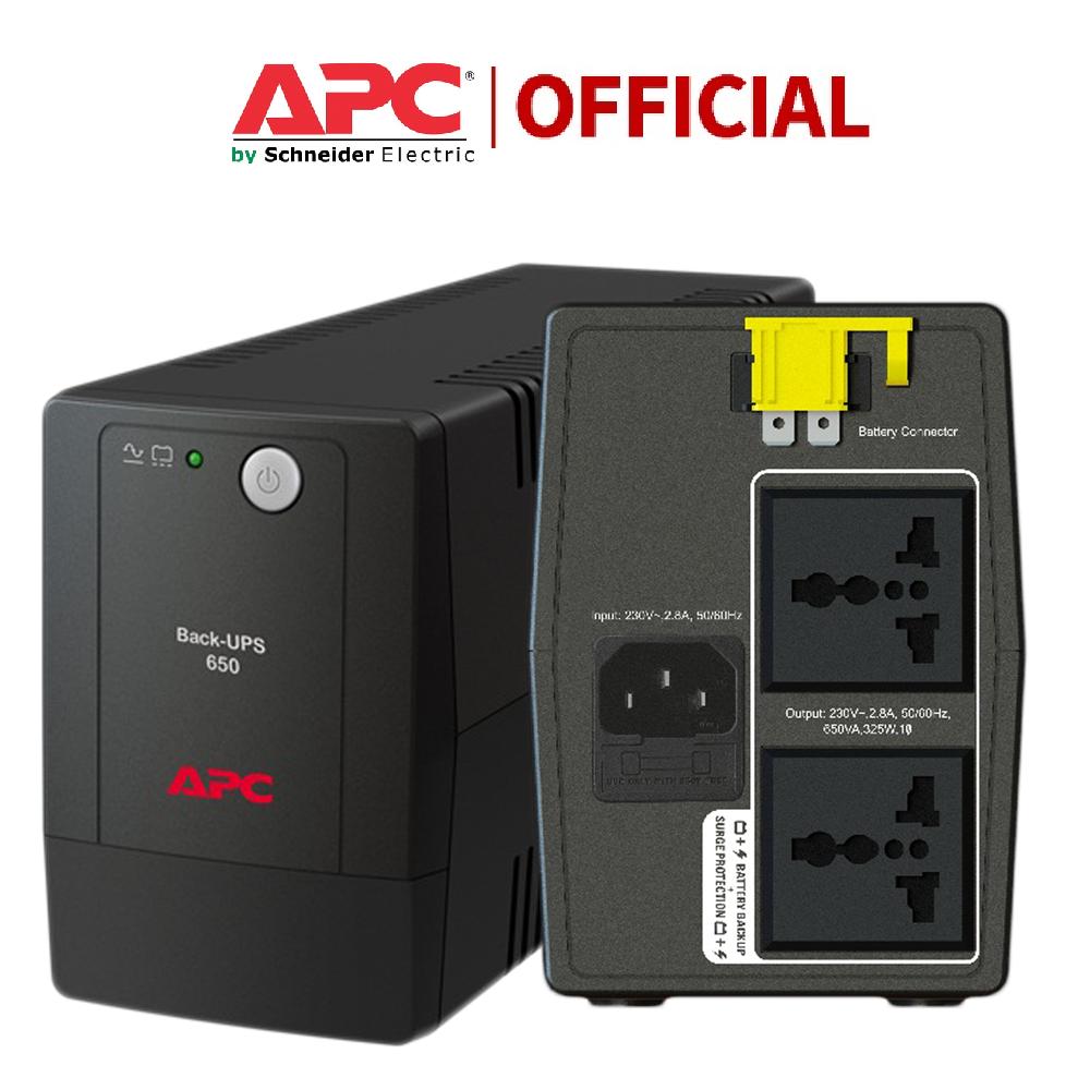 [Có bình, Bh 2 Năm] Bộ lưu điện UPS APC BX650LI-MS , 650VA, 230V – 325W – Hàng chính hãng