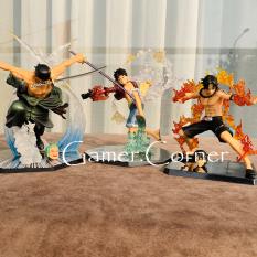Mô hình one piece – Luffy Mũ Rơm, Zoro Tam Kiếm, Ace Hỏa Quyền, Sanji Hắc Cước